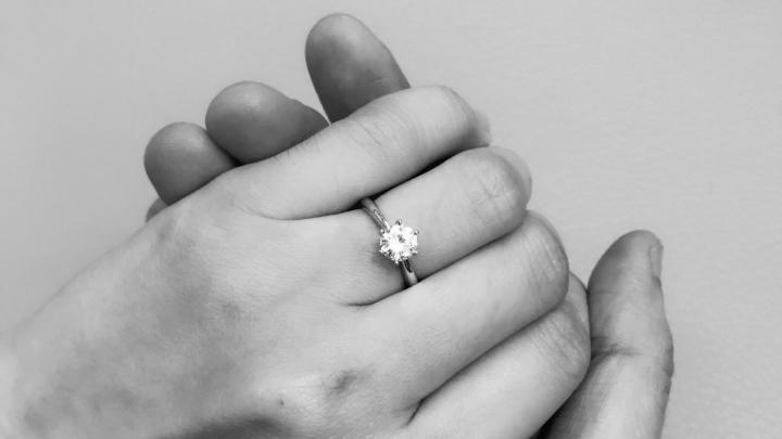 不敢置信,跨年夜被求婚了!
