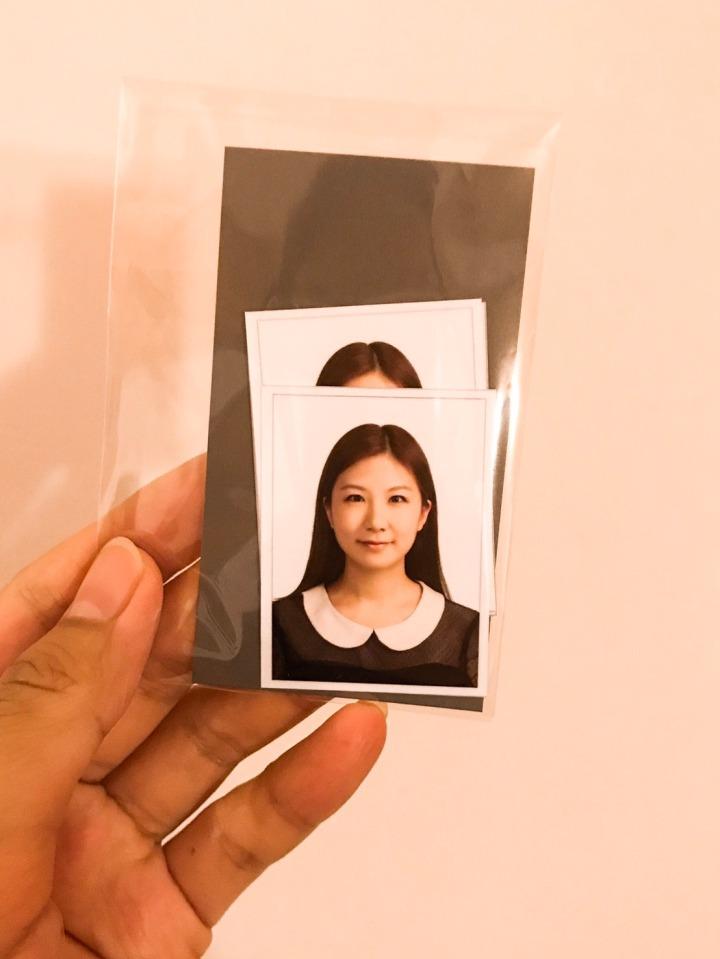 【韓國】Fork Studio 證件照-連西裝都可以合成