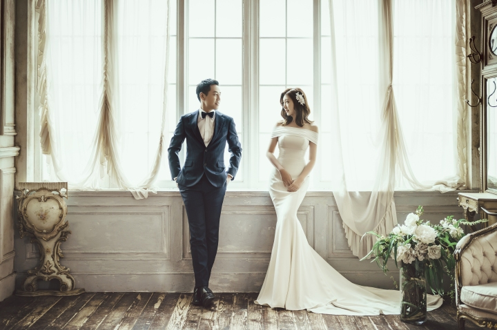 【Studio Wonkyu】夢想中的韓國婚紗-⑥媲美時尚大片的成品